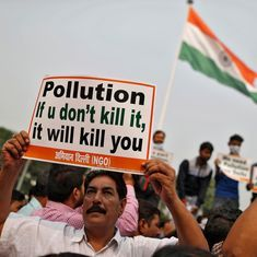 Air pollution in Delhi kills eight people every day, Supreme Court tells Centre
