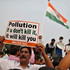 Delhi pollution: NGT seeks data that shows sprinkling water through cranes reduces smog
