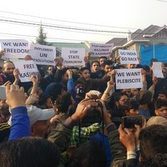 At the separatist meeting in Srinagar: Angry crowds and a resolve to continue with protests
