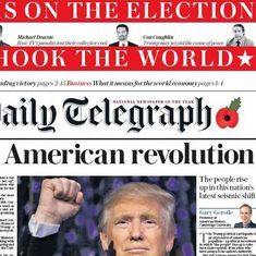 'Deal with him': How newspapers in five countries covered the Trump victory