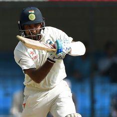 Ranji Trophy round-up: Pujara's 182 props up Saurashtra, Binny ton takes Karnataka to 649