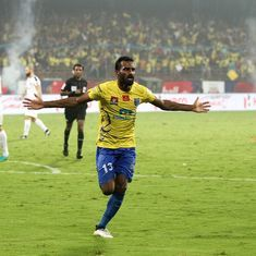 Kerala Blasters' surge up the ISL table is down to just one man – the clinical CK Vineeth