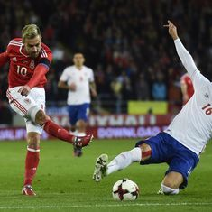 The football wrap: Wales's World Cup hopes suffer setback, and other top stories