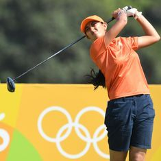 Aditi Ashok makes cut at Volvik Championship on the LPGA Tour