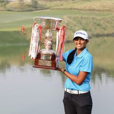 Golf: Aditi Ashok becomes first Indian woman to win a Ladies European Tour event