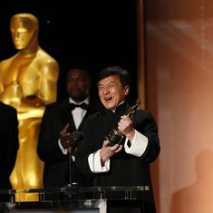 Jackie Chan wins honorary Oscar after 200 films and 56 years in the industry
