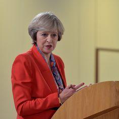 ब्रिटेन यूरोपीय संघ से आधे-अधूरे तरीके से नहीं बल्कि पूरी तरह से अलग होगा : टेरेसा मे