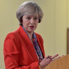 ब्रिटेन में टेरेसा मे ने सबको चौंकाया, तीन साल पहले ही आम चुनाव कराने की घोषणा की