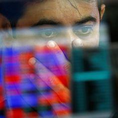 Sensex ends 262 points down, Nifty falls below 8,000 mark