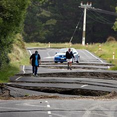 New Zealand earthquake: A thousand aftershocks, nearly a lakh landslides leave country reeling