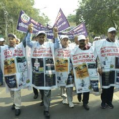 The Indian Medical Association protests the reform of the tainted Medical Council of India