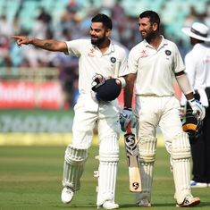 Kohli, Pujara remain 4th and 5th in Test batsmen's rankings, Jadeja continues to top bowlers' chart