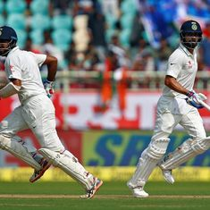 The cricket wrap: Virat Kohli and Cheteshwar Pujara batter England on day one, and other top stories