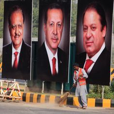 Turkish president calls on India, Pakistan to resolve Kashmir issue through dialogue