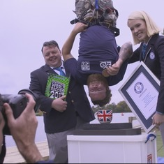 Watch this jump: Even by the weird standards of Guinness World Records, it's extraordinary