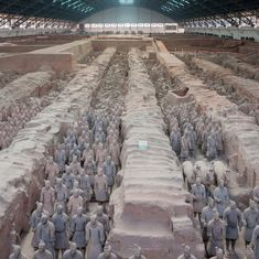 What explains the backlash to the idea that Greek art inspired China's Terracotta Army