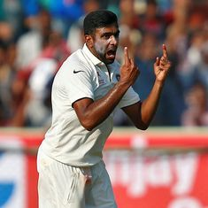 'I don't know why these jibes come back at us,' says R Ashwin, when asked about Vizag pitch