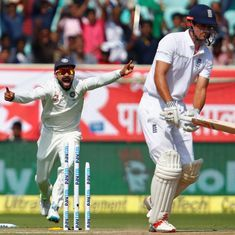 Watch: Indian pace bowlers are destroying England's stumps and it's a glorious sight