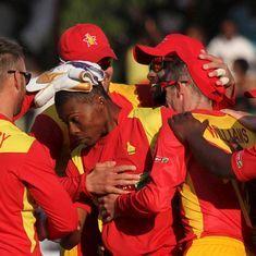Zimbabwe salvage tie with West Indies in thriller
