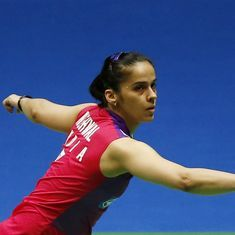Saina joins Sindhu in semis to guarantee India two medals at Worlds for first time ever