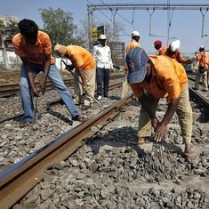 India's rail safety rests on the shoulders of 200,000 trackmen with 15 kilos of gear on their backs