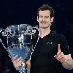 Andy Murray beats Novak Djokovic at ATP Finals to end the season as World No. 1