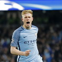 Premier League: Manchester City's Kevin De Bruyne to miss three months with knee injury