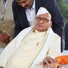 Former Uttar Pradesh Chief Minister Ram Naresh Yadav dead