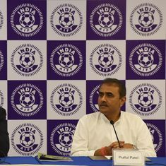 Football: Praful Patel unanimously re-elected as AIFF president in AGM