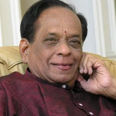 Carnatic legend M Balamuralikrishna dead at 86