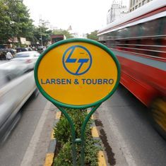Government sells 2.5% stake in L&T to raise Rs 4,000 crore through block deals, company shares jump