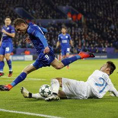The football wrap: Leicester City enter round of 16 in Champions League, and other top stories