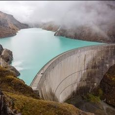 Watch: They broke the world record for the highest basketball shot from a dam. Yes, that's a thing