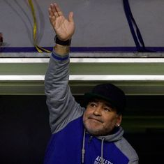 Diego Maradona set to join Belarusian club Dinamo Brest after FIFA World Cup