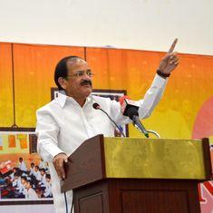 'Recall what happened in 1971': Venkaiah Naidu warns Pakistan against aiding terrorists