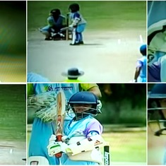 Watch: This five-year-old plays for Delhi U-14 and he's already being compared to Sachin Tendulkar