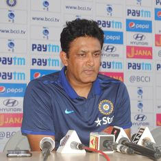 Cricket: Anil Kumble steps down as India's head coach