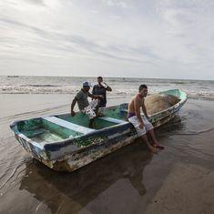 7-magnitude earthquake hits El Salvador and Nicaragua after hurricane Otto makes landfall