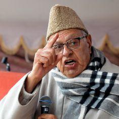 कश्मीरी भारत सरकार से आज जितना नाराज हैं, उतना पहले कभी नहीं थे : फारूक अब्दुल्ला