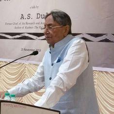 प्रधानमंत्री मोदी कश्मीर समस्या का हल खोजने का अवसर गंवा रहे हैं : एएस दुलत