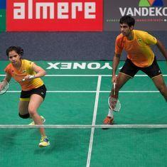 Badminton: After taking the lead, Pranaav Jerry Chopra-N Sikki Reddy go down in Scotland Open final