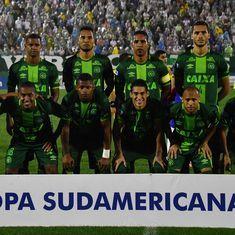 ब्राजील की फुटबाल टीम ले जा रहा विमान कोलंबिया में दुर्घटनाग्रस्त