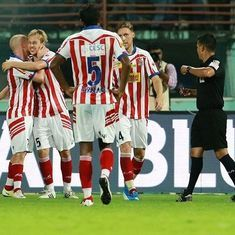 ISL 2016: Resolute ten-man Atletico de Kolkata hold off Mumbai City to reach final for second time