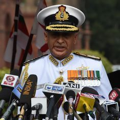 Sikkim standoff: Navy chief says China made shrill comments, but India's silence worked
