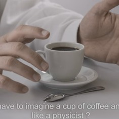 This video explains key concepts of physics using a shot of espresso