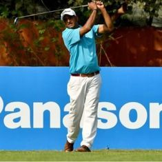 Golf: 51-year-old Mukesh Kumar lifts the Panasonic Open in New Delhi
