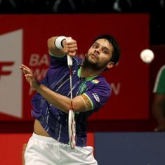 Parupalli Kashyap, Harsheel Dani eliminated in the third round at the China Grand Prix Gold