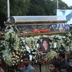 The big news: Jayalalithaa buried with full state honours next to MGR, and nine other top stories
