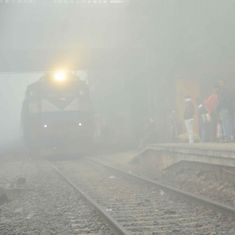 Delhi: Air quality index drops to 'very poor' level, low visibility affects trains and flights