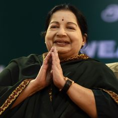 AIADMK unveils 7-foot portrait of Jayalalithaa inside Tamil Nadu Assembly, DMK moves High Court